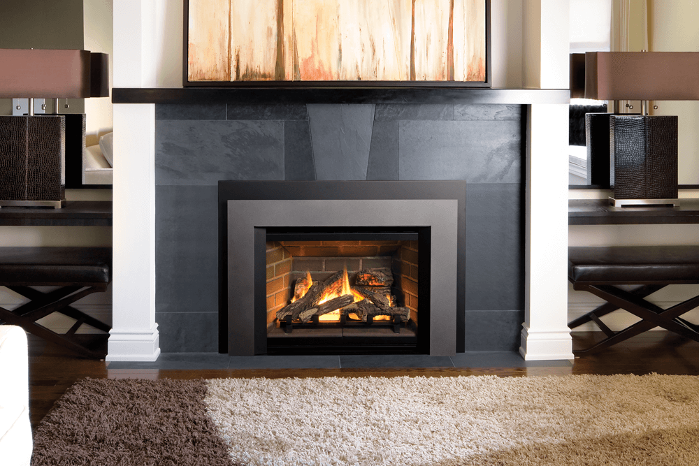 Gas Fireplace peninsula gas fireplace : Gas Fireplace Inserts – Central Coast Fireplace