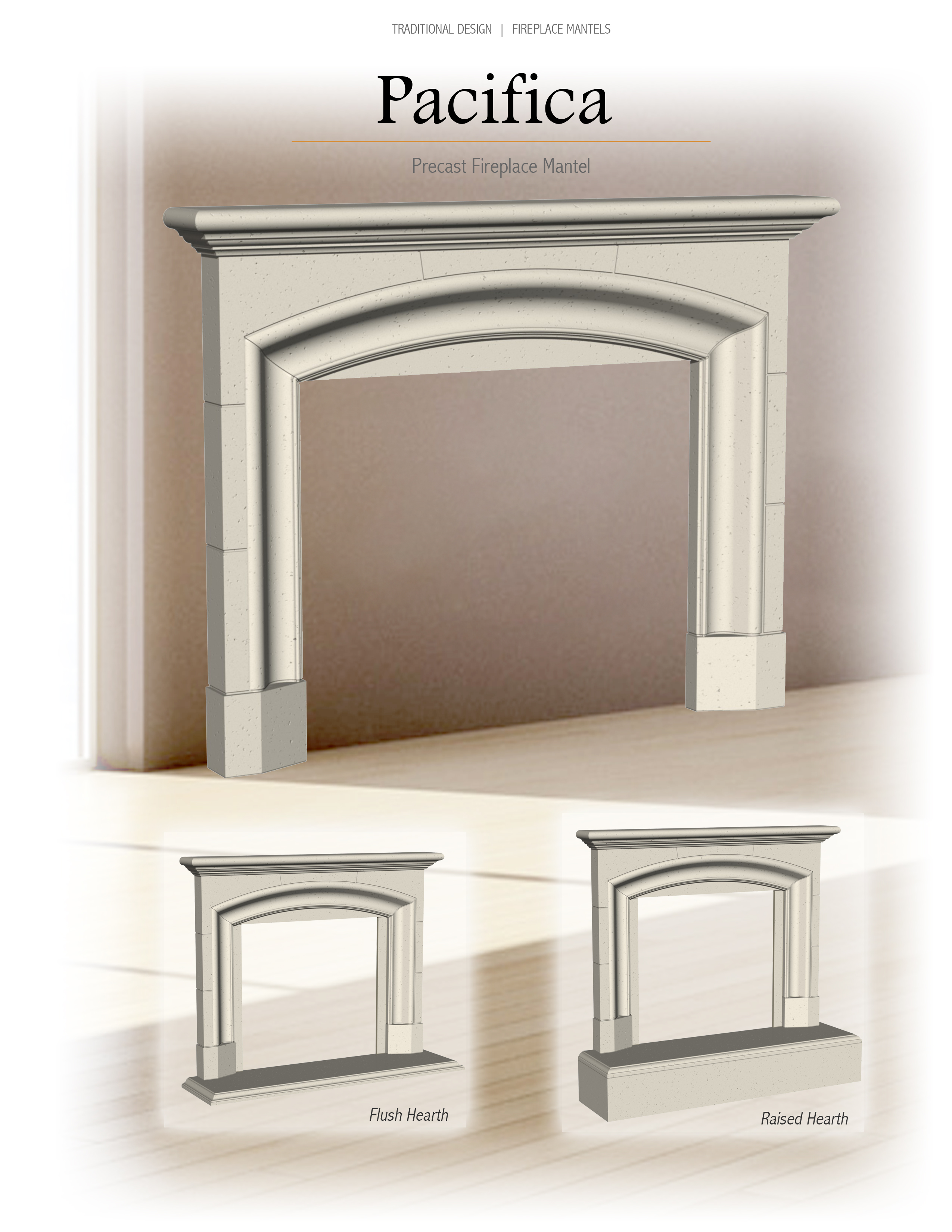 mantels and surrounds central coast fireplace
